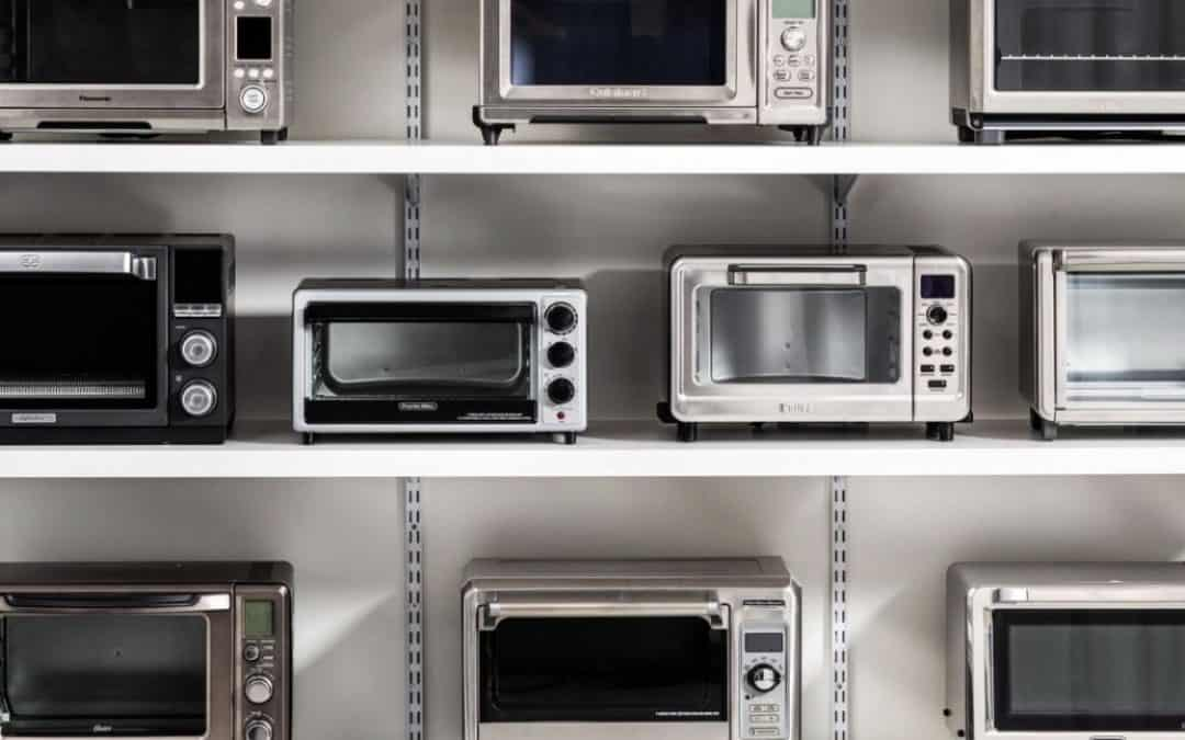 the best spacesaver toaster ovens on a shelf.