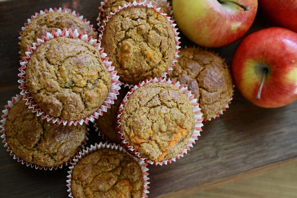 Muffin batter too thick - apple muffins