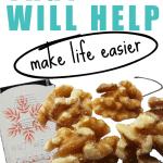 A nut grinder to make life easier.