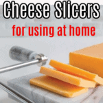 pin on the best cheese slicers - a marble cheese board with slicer.