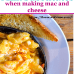 Milk substitutes for mac and cheese